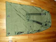 Military Army Green Large Canvas Duffle Bag Very Good Condition