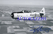 Canadian Ace Rayne Schultz 8 Vic Signed 4x6 Photo Rcaf
