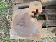 Allis Chalmers Front End Weight / 7000 Series Tractors