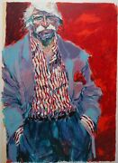 Aldo Luongoand039s Last Days Of 44 Signed Serigraph Hc 14/20 In Excellent Condition