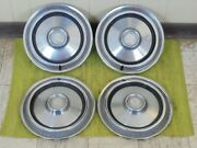 75 76 77 78 79 Plymouth 14 Set Of 4 Hub Caps 1975 1976 1977 1978 1979 Hubcaps