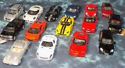 Die Cast Metal Model Car 5 Kinsmart 21 Pull And Go Cars - New - Flat Rate Ship