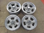 14x6 Torq Thrust Style Wheels Rims Gm Camaro Nova Chevelle Set Of 4