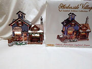 Harborside Village Lighted Limited Edition Collection Baileyand039s Fish Market Mib