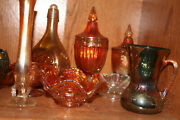Antique Carnival Glass Collection