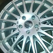 18 Oz Racing Superturismo Gt Alloy Wheels For Bmw With Vredstein Tires - 8x18