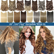 Remy Real Halos Secret Wire In Hair Extensions Hidden Wire Invisible Headband Ci