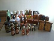 Vintage Lot Variety Of Salt And Pepper Shakers
