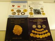 Stacks Coin Auction Catalogues 2004-2005 Early Copper Gold And Paper Money