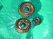 1970and039s 18-20hp Mercury Outboard Gear Set 45227 45229 45189