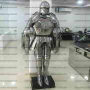 Suit Of Armor Full Gothic Wearable Costume Functional Plate Knight Collectible