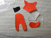 Iron On Fox Die Cut Fox Multiple Pieces With A Variety Of Poses Red Fox