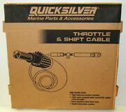 New Quicksilver Marine Boat Throttle And Shift Cable Part No. 896145a07