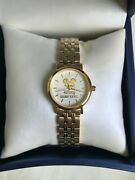 Womenand039s Disney Cast Member Retirement Award Gold Mickey Executive Watch