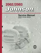 Johnson Outboards 2002/2003 Sn/st 2 Stroke 3.5 6 8 Service Manual P/n 5005466