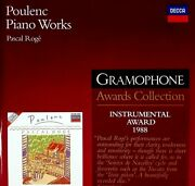 Poulenc Piano Works - Pascal Roge Gramophone Awards Collection