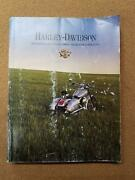 Harley Davidson Motorcycles 2000 Genuine Accessories And Motor Parts Catalog