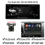 Android 10 Car Gps Radio Stereo 4+64gb Ram For Audi A4l A5 High Class 2009-2016