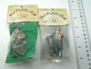 Schneider's Just Plain Folk G Scale Lot Of 2 People Figurines 106 And 109-1 Nip
