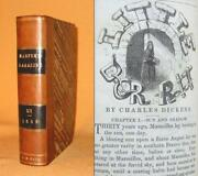 1st Appearance Of Little Dorrit By Charles Dickens 1855-56 Leather Harperand039s Mo.