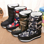 【buy 2 Get A Starry Star Watch Free 】winter Warm Thickening Fur Lined Snow Boots