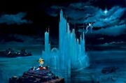 Blue Castle- Peter And Harrison Ellenshaw - Limited Edition Giclee On Canvas