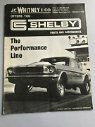 Orig 1965 1966 1967 Shelby Gt 350 500 R Model Cobra Part And Accs Catalog 65 66 67