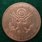 1776-1976 American Revolution Bicentennial -we The People Coin -medal
