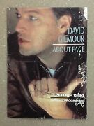 David Gilmour Signed Cover Of Tour Book - Pink Floyd - Fa Loa