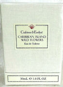 Crabtree And Evelyn Caribbean Island Wild Flowers Eau De Toilette 1 Oz. Sealed