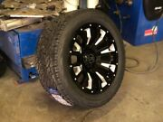 Black Rhino Pinatubo Wheels With Tyres 20x9.5 Ford Ranger L200 Dmax Hilux 4x4