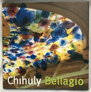 Dale Chihuly Signed Autographed Bellagio Hc/dj Glass Sculpture 1st Ed W/dvd Book