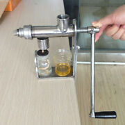Manual Cooking Oil Press Machine Kitchen Gadgets Stainless Steel Cook Oil Maker