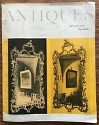 The Magazine Antiques-sept 1960- Mirrors Newtown Paglass Real Estate Ads