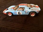 Gmp 1/12th 1969 Gt40 Mk1 Gulf 6 Jacky Ickx /jackie Oliver 1969 24 Hrs Lemans