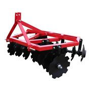 Titan Attachments Notched Disc Harrow 5 Ft. 3 Point Category 1