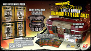Borderlands 2 Swag-filled Limited Edition Diamond Plate Loot Chest 3 Collectors