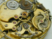 Le Phare Minute Repeater Dial Movement Sold For Parts Perfect For Wrist Watch