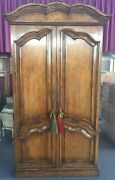 French Style Armoire Bar Cabinet