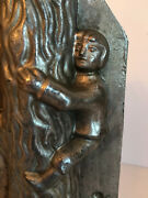 Antique Vintage Jack And The Beanstalk Chocolate Mold. Made By Sommet - France