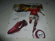 Air Zoom Total 90 Iii Wayne Rooney Store Display Poster Soccer Play Your Game