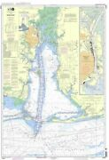 Noaa Nautical Chart 11376 Mobile Bay Mobile Ship Channel-northern End
