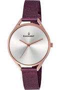 Watch Woman Radiant New Starlight Ra432209 Of Stainless Steel Purple