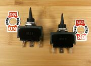2 Attwood On/off /on 20 Amp Water Resistant Marine Grade Toggle Switches