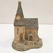 David Winter The Chapel Building Handcrafted Signed 1984 Hines Studios England