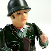 1950s Nomura Toy Tinplate Windup Combat Solder 15.5 Cm With Box Made In Japan