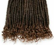 Crochet Braids Hair Synthetic Extensions For Women 16 Inches Head Braided Weaves