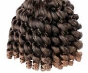 Synthetic Hair Extension Crochet Braid For Women Jumpy Wand 8 Inches Accessories