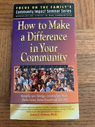 How To Make A Difference In Your Community Vhs