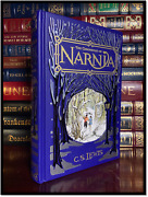 The Chronicles Of Narnia By C.s. Lewis Rare Leather Bound Hardback 1st Printing
